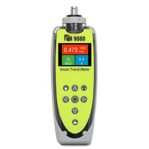 TPI 9080 Vibration Meter – Monitor Bearings, Lubricate and More