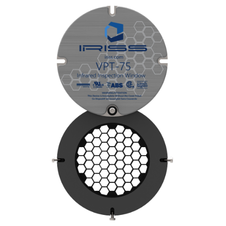 IRISS VPT Round Infrared Windows for Electrical Inspection