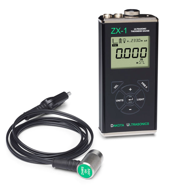 Dakota Ultrasonics ZX-1 Ultrasonic Wall Thickness Gauge