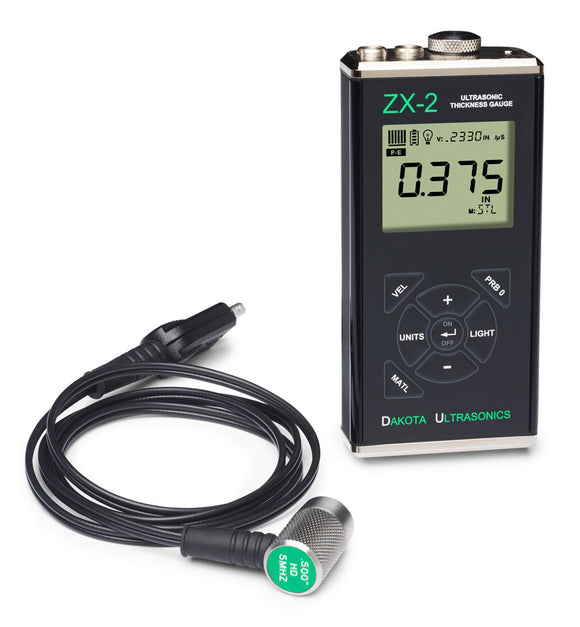 Dakota Ultrasonics ZX-2 Ultrasonic Thickness Gauge