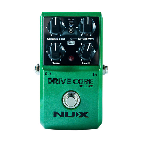 NUX Drive Core Deluxe, Booster-Blues Driver Pedal