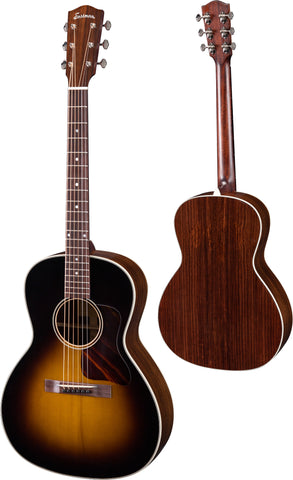 Eastman E20OOSS Sloped Shoulder Acoustic, Sunburst, w/Hardcase