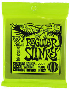 Ernie Ball Slinky Nickel Wound Electric Guitar String Sets