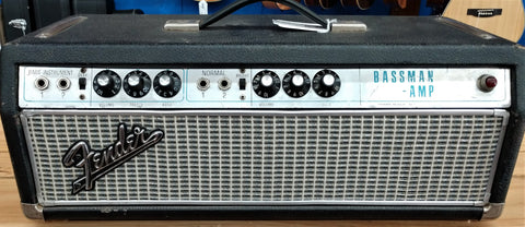 "1967 Fender Bassman Head, 50-watt, ""Transition Year"""