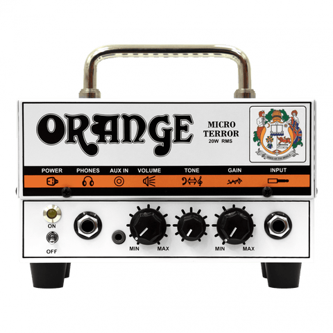 Orange Micro Terror Guitar Amp Head, 20-watt hybrid
