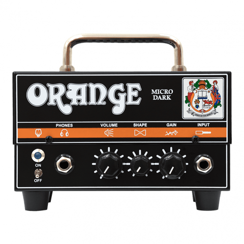 Orange Micro Dark Guitar Amp Head, 20-watt hybrid, High Gain