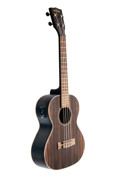 Kala Striped Ebony Ukulele, Tenor w/EQ
