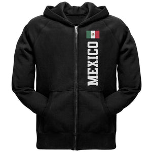 Cinco De Mayo Mexico Flag World Cup Adult Full-Zip Hoodie