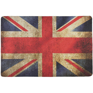 British Flag Union Jack Grunge Distressed All Over Placemat
