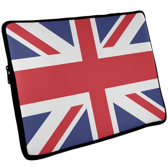British Flag Union Jack Laptop Sleeve 17 inch