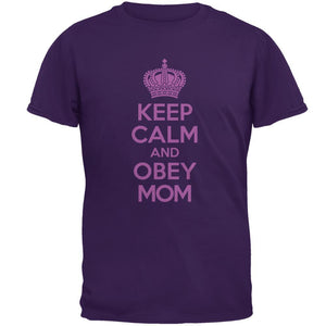 Mother's Day Keep Calm And Obey Mom Mens T Shirt
