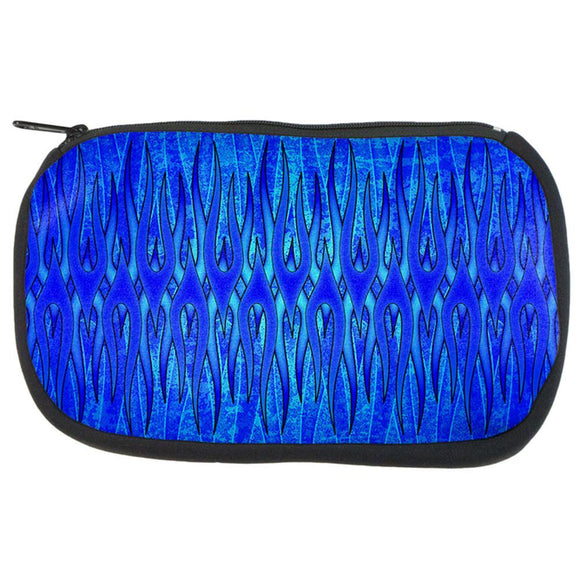 The Eternal Blue Flame Makeup Bag
