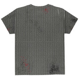 Halloween Battle Damage Chainmail Costume All Over Youth T Shirt