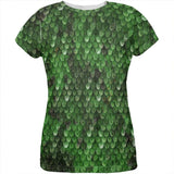 Halloween Wood Elf Scale Mail Armor Costume All Over Womens T Shirt