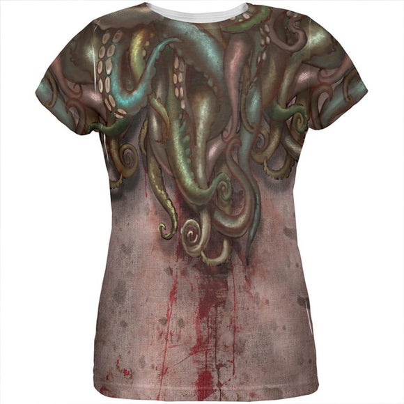Cthulhu Greater God Tentacles Costume All Over Womens T Shirt