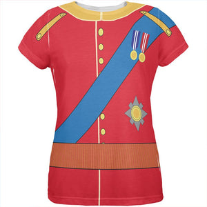 Halloween Prince Charming William Costume All Over Womens T Shirt