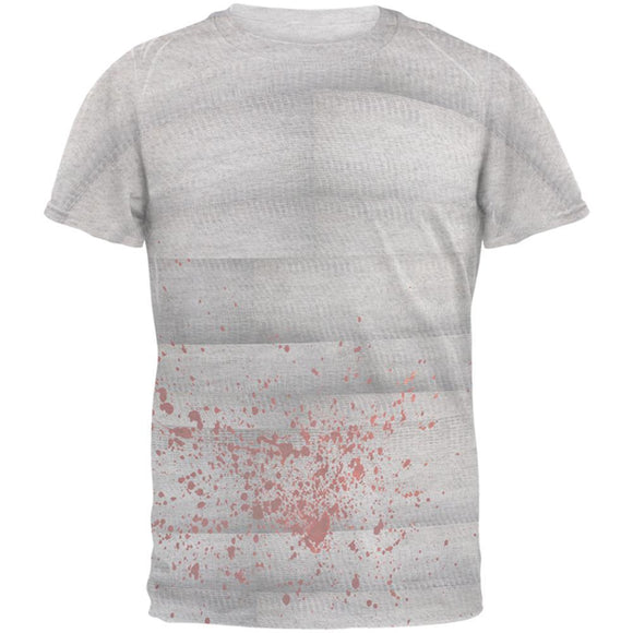 Halloween Bloody Mummy Mens T Shirt