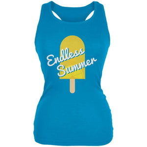 Summer Sun Ice Pop Endless Summer Juniors Soft Tank Top