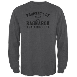 Viking Property of Ragnarok Training Department Mens Long Sleeve T Shirt