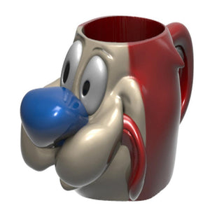 Ren And Stimpy - Stimpy Head Molded Mug