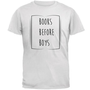 Education Smart Women Books Before Boys Mens T Shirt