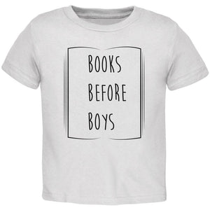 Education Smart Women Books Before Boys Toddler T Shirt