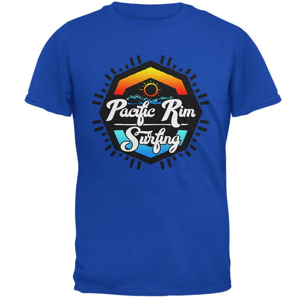 Pacific Rim Surfing Mens Soft T Shirt