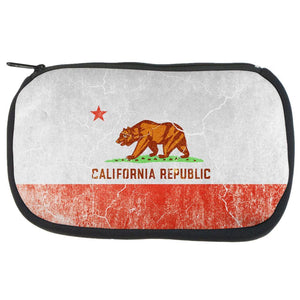 California Vintage Distressed State Flag Travel Bag