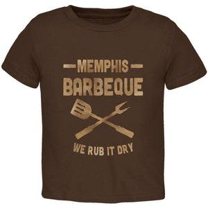 Memphis Barbeque Rub It Dry Toddler T Shirt