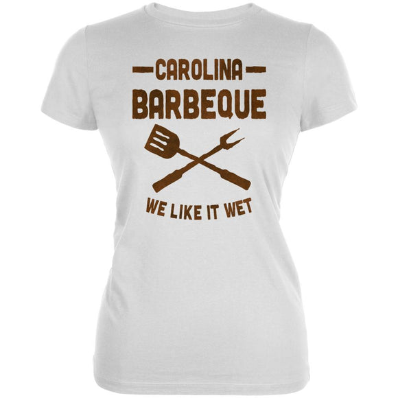 Carolina Barbeque Like It Wet Juniors Soft T Shirt