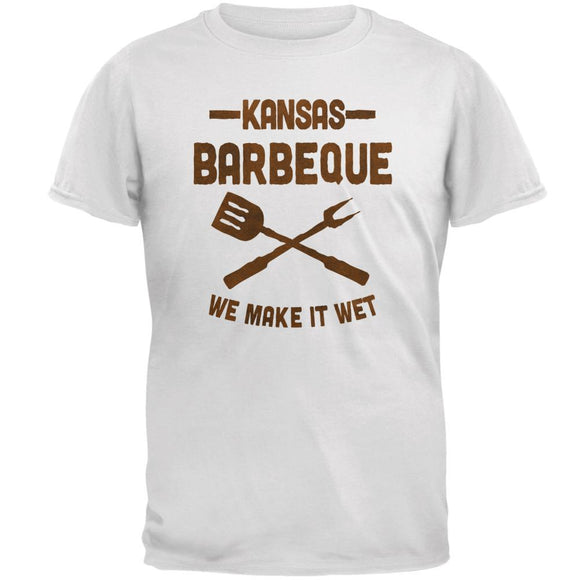 Kansas City Barbeque Make It Wet Mens T Shirt