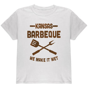 Kansas City Barbeque Make It Wet Youth T Shirt