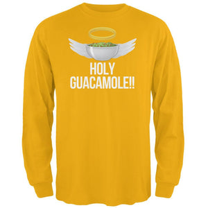Cinco de Mayo Holy Guacamole! Mens Long Sleeve T Shirt