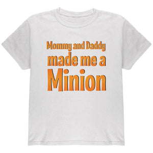 Big Brother Big Sister Made A Minon Youth T Shirt