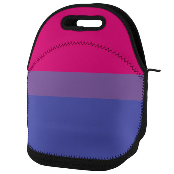 LGBT Bisexual Pride Flag Lunch Tote Bag
