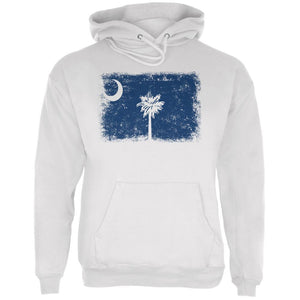 Born and Raised South Carolina State Flag Mens Hoodie