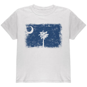 Born and Raised South Carolina State Flag Youth T Shirt