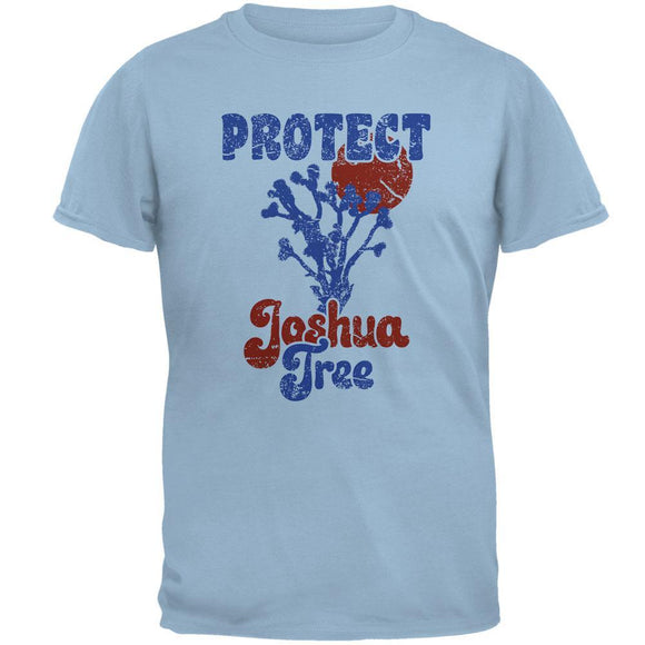 National Park Retro 70s Landscape Protect Joshua Tree Mens T Shirt