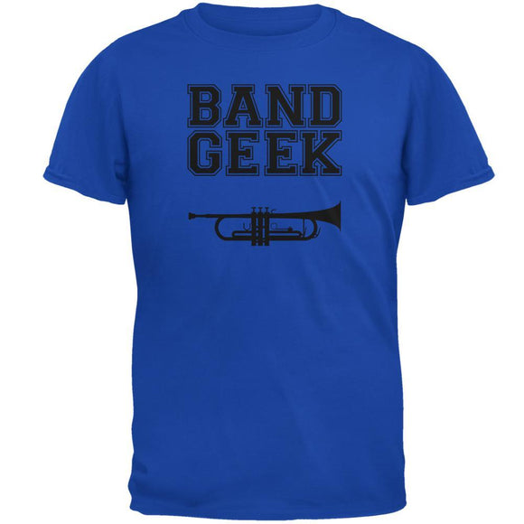 Band Geek Trumpet Mens Soft T Shirt