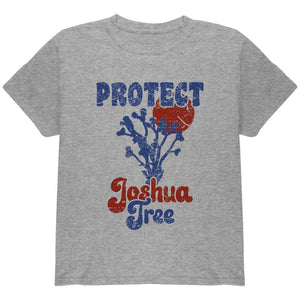 National Park Retro 70s Landscape Protect Joshua Tree Youth T Shirt