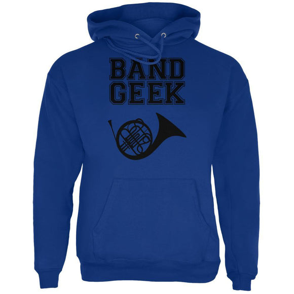 Band Geek French Horn Mens Hoodie