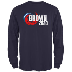 Presidential Election 2020 Jerry Brown Swoosh Mens Long Sleeve T Shirt