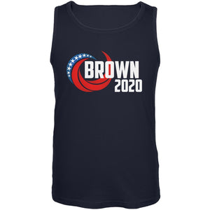 Presidential Election 2020 Jerry Brown Swoosh Mens Tank Top