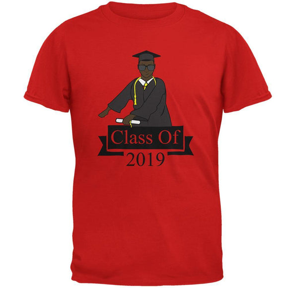 Flossing Graduate Graduation Class Of 2019 Mens Soft T Shirt