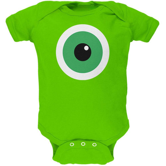 Monster Cyclops Eye Costume Soft Baby One Piece