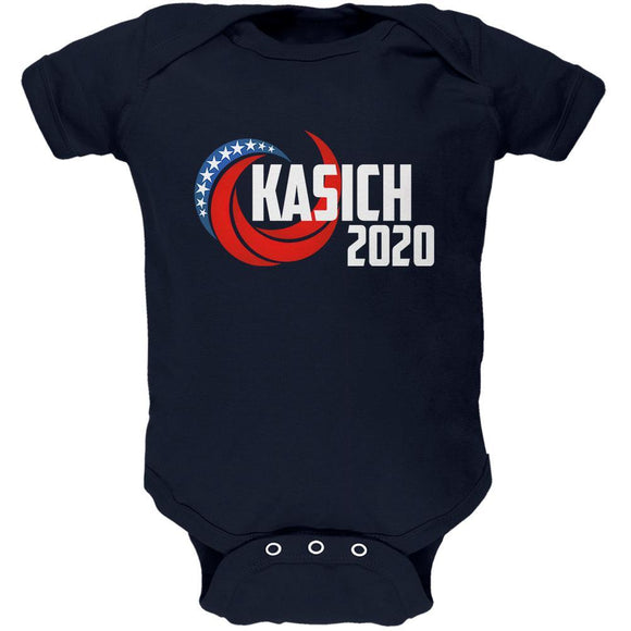 Presidential Election 2020 John Kasich Swoosh Soft Baby One Piece