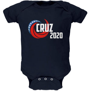 Presidential Election 2020 Ted Cruz Swoosh Soft Baby One Piece