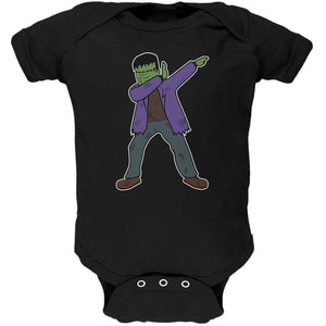 Halloween Dabbing Frankenstein's Monster Soft Baby One Piece