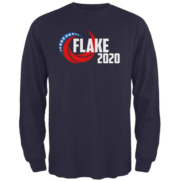 Presidential Election 2020 Jeff Flake Swoosh Mens Long Sleeve T Shirt