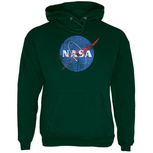 NASA Distressed Logo Mens Hoodie